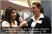 The Bauer Girls Go to Bauer Alumni Association Annual Meeting