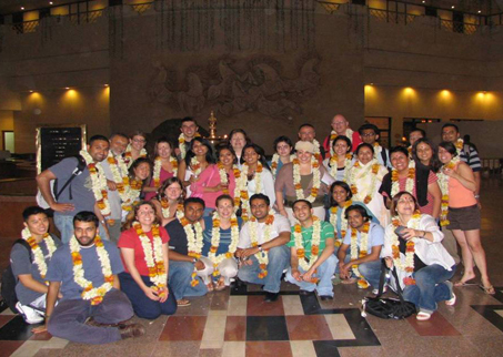 India Trip Students 2006