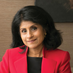 Dean Latha Ramchand, C. T. Bauer College of Business at the University of Houston