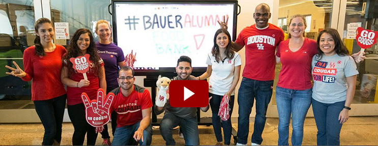 Bauer Alumni Connect Student-Produced Video