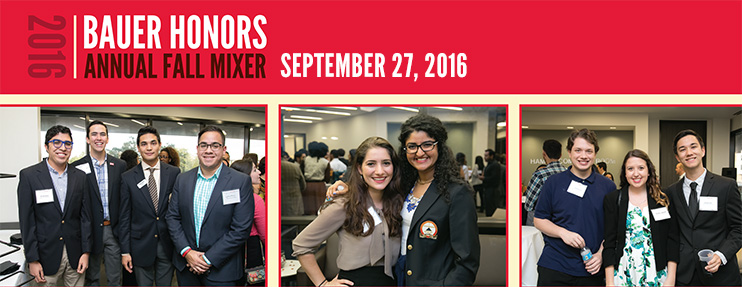 Fall Mixer: Sept. 27