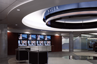 Bauer Lobby & Ticker area