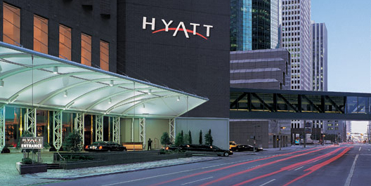Hyatt Regency Hotel Houston Texas