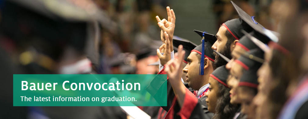 Get the Latest Commencement/Convocation Information