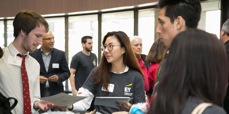 EY Visits Students