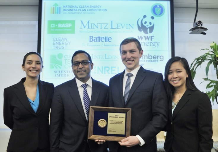 National Clean Energy Business Plan Competition Winners