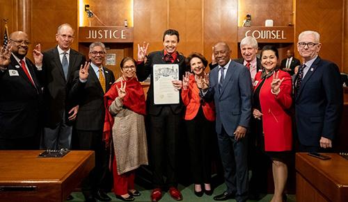 Photo: Bauer Entrepreneurship Day at City Hall
