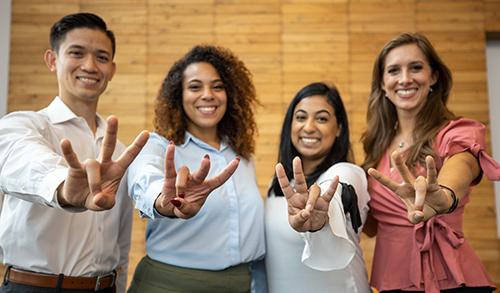 Photo: Grad Students