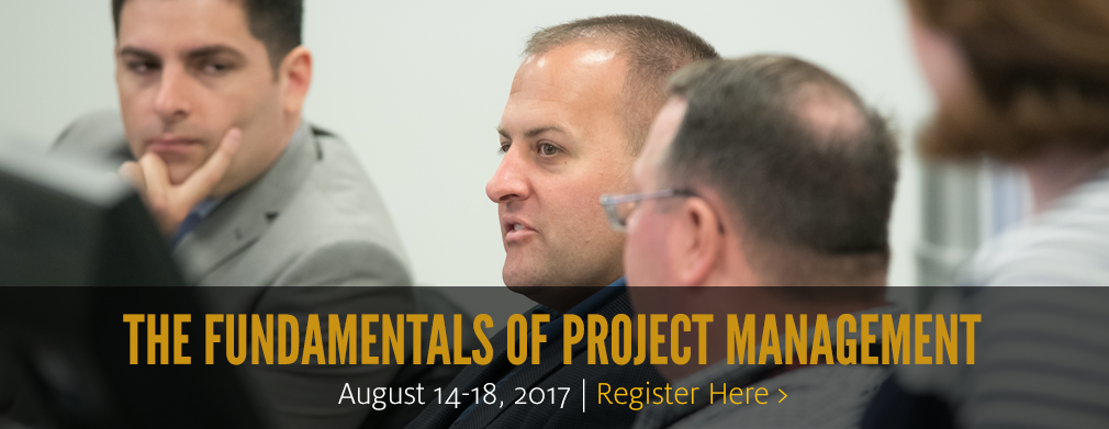 The Fundamentals of Project Management: August 14-18
