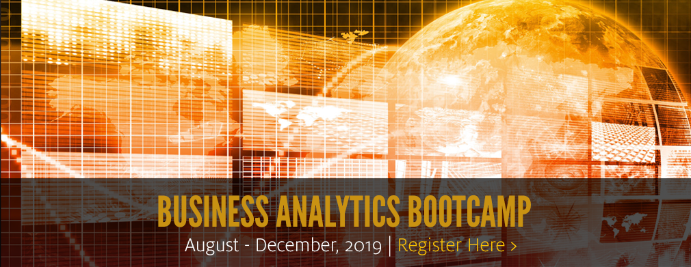 Business Analytics Bootcamp: February-May, 2019