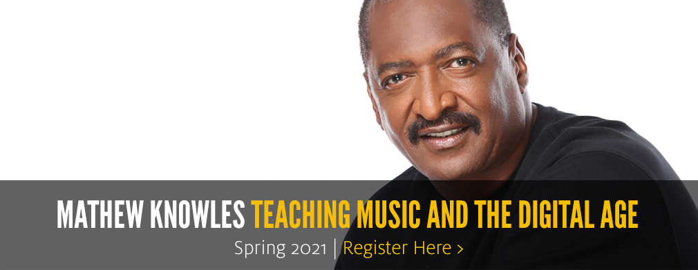 Mathew Knowles Teaching Music and the Digital Age