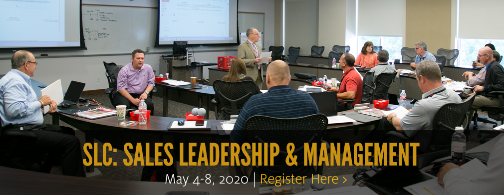 SLC-Sales Leadership and Management: August 6-10, 2018