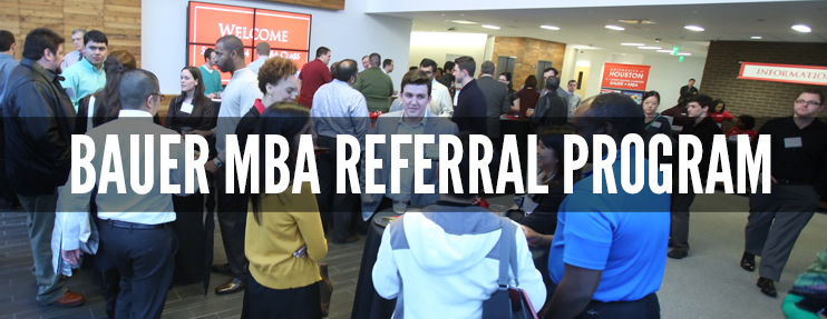 Refer a friend to the Bauer MBA Program