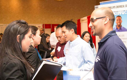 Bauer College Career Fair Fall 2014