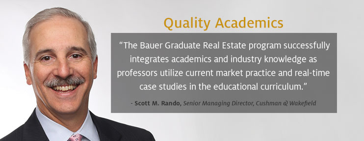 Graduate Real Estate Curriculum
