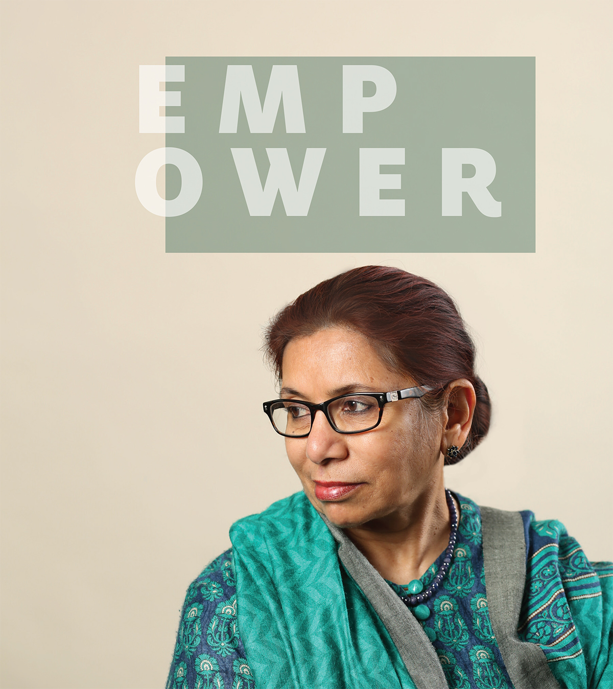 Empower. By Saleha B. Khumawala