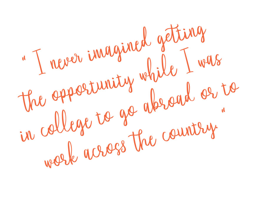 I never imagined getting