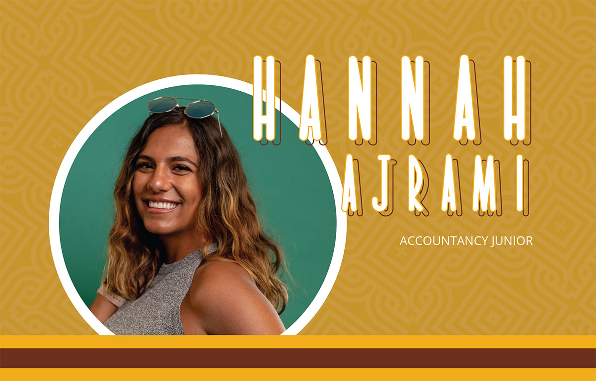 Hannah Ajrami: Accountancy Junior
