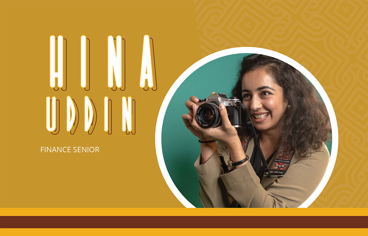 Hina Uddin: Finance Senior