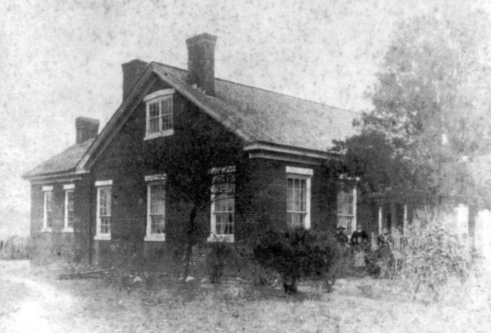 Hockenhull Home Barrettsville Ga Circa 1850